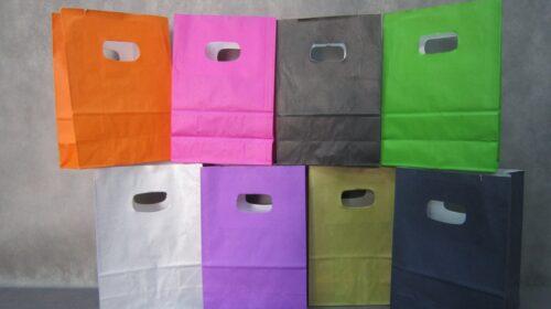 שקיות נייר קטנות לתכשיטים